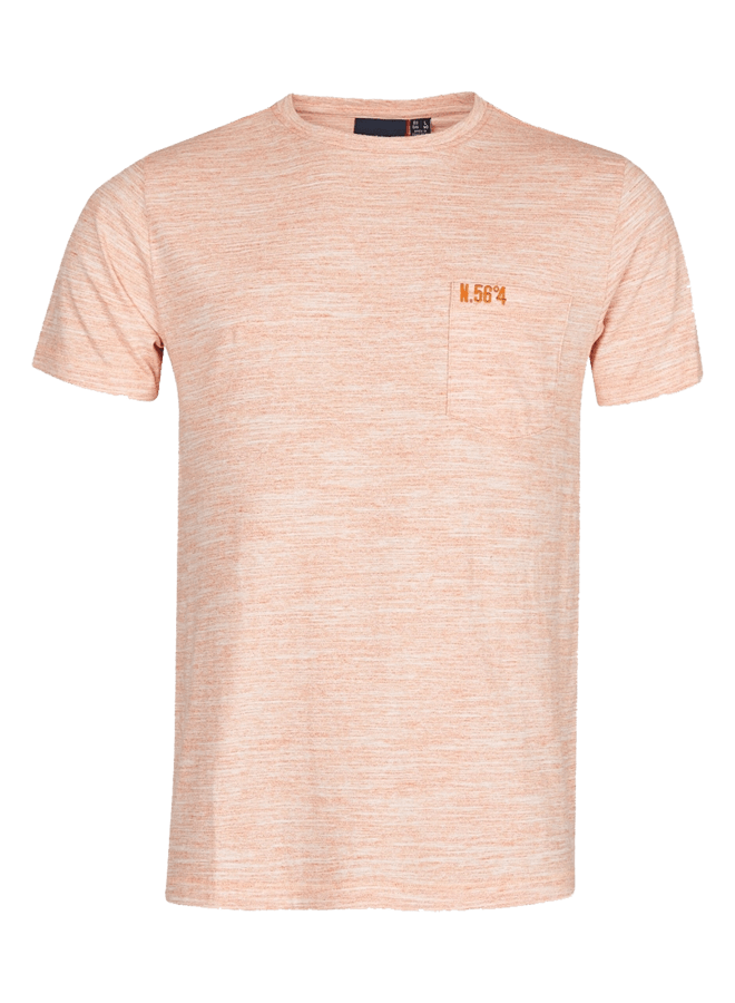 NORTH 56 4 Orange T skjorte | 4XL 8XL | XLmann.no