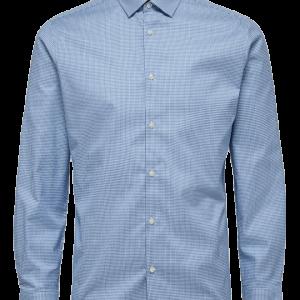 SELECTED PLUSFIT Lyseblå Penskjorte
